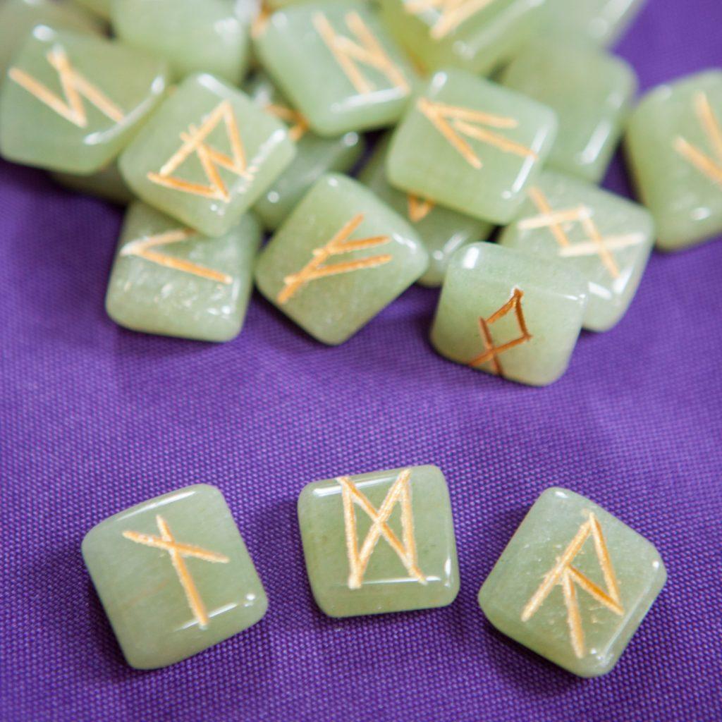 Healing Light Empath Rune Reading Futhark Tarot Card