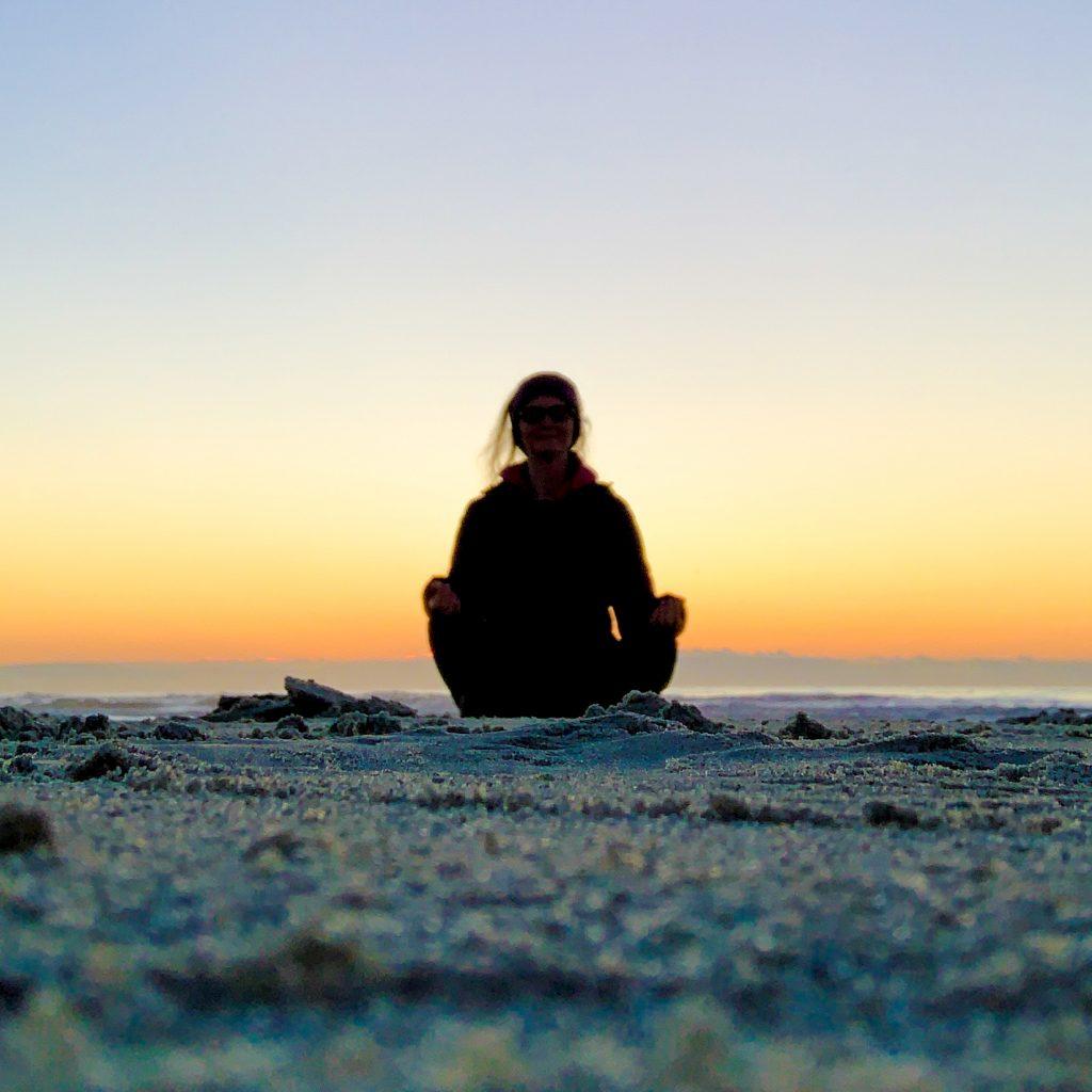Healing Light Empath Yoga Meditation Beach Relax