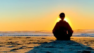 reiki healing meditation beach empath