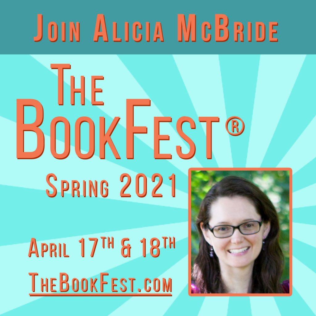 alicia mcbride empath author bookfest